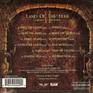 2007 – Land Of The Free II – Limited First Edition Cd – Mexico.