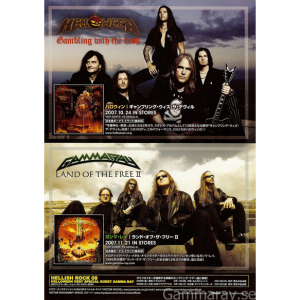 2007 – Land Of The Free 2 – Promo Flyer.