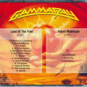Land Of The Free / Future Madhouse – Cd – Russia – Bootleg.