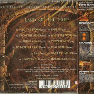 2007 – Land Of The Free II – Russia – Cd.