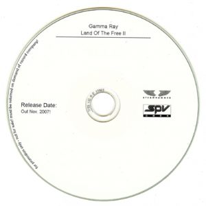 2007 – Land Of The Free II – Promo Cd.