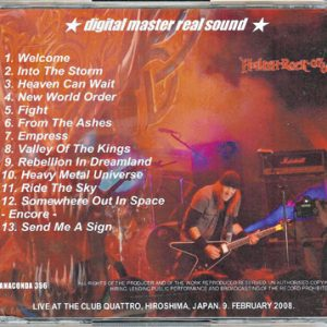 2008 – Lightning The Valley – Cd – Japan – Bootleg.