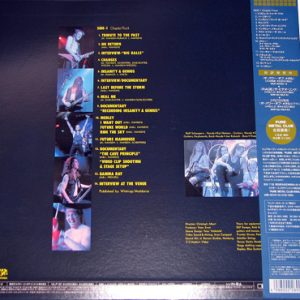 1994 – Lust For Live – LaserDisc – Japan.