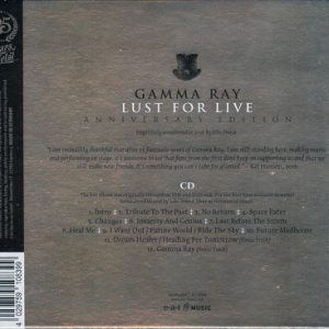 2016 – Lust for Live (Anniversary Edition) – Cd.