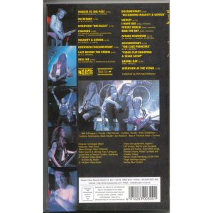 1994 – Lust For Live – VHS.