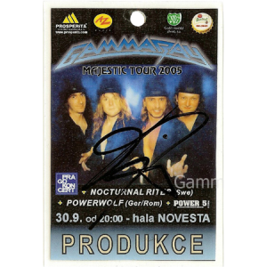 2005 – Majestic Tour – Novesta 30/9.