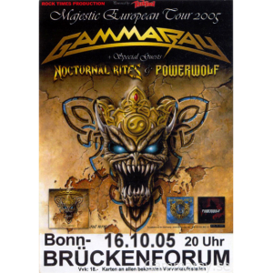 2005 – Majestic European Tour -05 – Flyer.