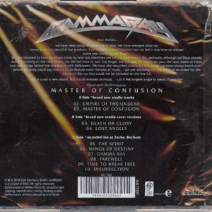 2013 – Master Of Confusion – EP – Brazil – Cd.