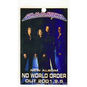 2001 – No World Order Pass – Japan – 9/5.