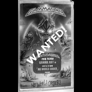 WANTED: 2001 – No World Order – Tape – Korea.