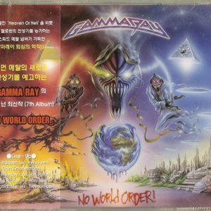 2001 – No World Order – Korea – Cd.