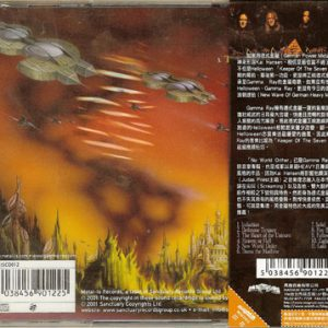 2011 – No World Order – Taiwan – Cd.