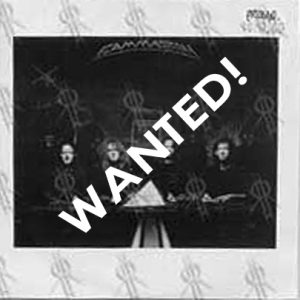 WANTED: 2001 – No World Order – Promo Cd.