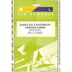 2003 – South America Tour Pass – 29/11.