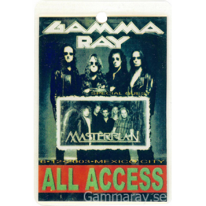 2003 – Mexico City Pass – 6/12.
