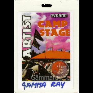 1999 – Dynano Festival Pass – 23/5 – Netherlands.