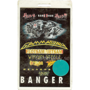 2005 – Heavy Bang Your Head Festival Pass – 24/25 – 6 – Germany.
