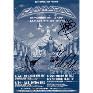 1999 – PowerPlant Japan Tour -99 – Flyer.