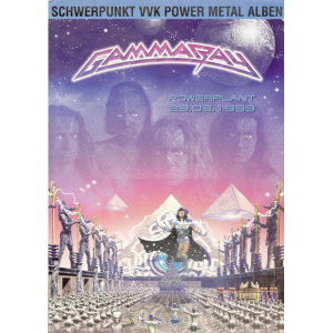 1999 – PowerPlant Full color Pressfolder Promo Flyer.