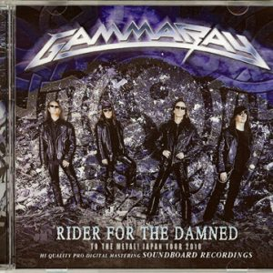 2010 – Rider Of The Damned – Cd – Japan – Bootleg.