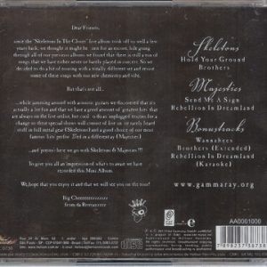 2011 – Skeletons and Majesties – Cd – Brazil.