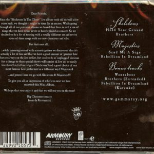 2011 – Skeletons and Majesties – Cd.