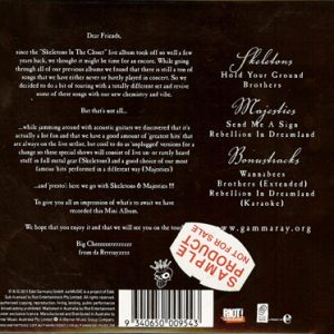 2011 – Skeletons and Majesties – Australia – Promo Cd.
