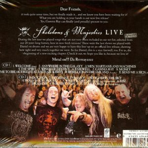 2012 – Skeletons and Majesties Live – Mexico 2Cd & Bonus Cd.