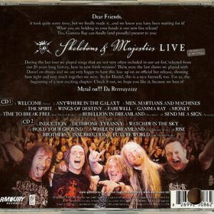 2012 – Skeletons and Majesties Live – 2Cd – Usa.