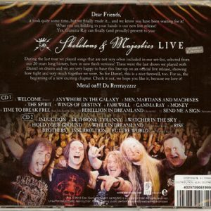 2012 – Skeletons and Majesties Live – 2Cd.