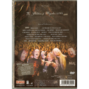 2012 – Skeletons and Majesties Live – 2DVD – Argentina.