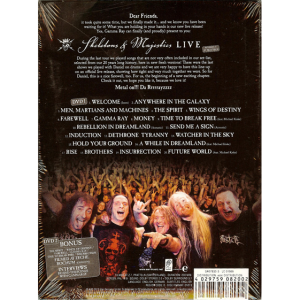 2012 – Skeletons and Majesties Live – 2DVD – Mexico.