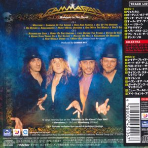 2003 – Skeletons In The Closet – 2Cd – Japan.