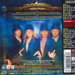 2003 – Skeletons In The Closet – 2Cd – Japan.