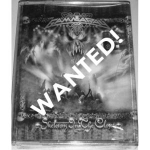 WANTED: 2003 – Skeletons In The Closet – 2 Tape – Malaysia.