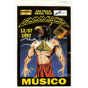 1997 – Somewhere Out In Space – Brazil Tour – Pass.