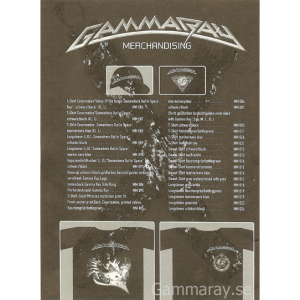 1997 – Somewhere Out In Space Promo Flyer.