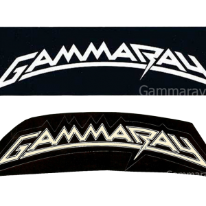 Gamma Ray Logo Stickers.