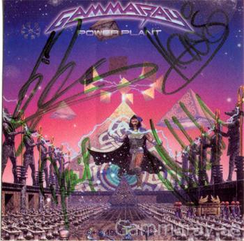 gamma ray power plant