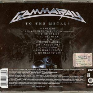 2010 – To The Metal – Cd – Ukraine.