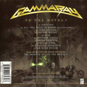 2010 – To The Metal – Cd – Plus Limited Edition Bonus DVD – Usa.