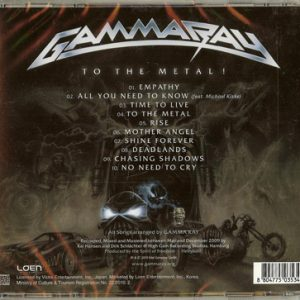 2010 – To The Metal – Cd – Korea.