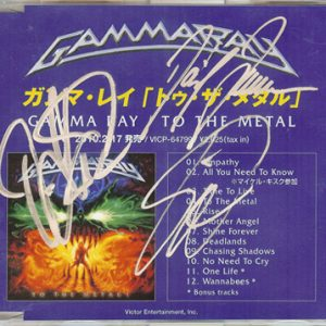 2010 – To The Metal – Cdr – Promo – 2 Bonus tracks – Japan.
