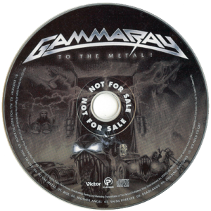 2010 – To The Metal – Cd – Thailand Promo.