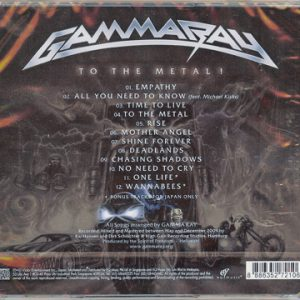 2010 – To The Metal – Cd – 2 Bonus Tracks – Malaysia.