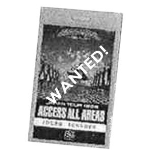 WANTED: 1999 – PowerPlant Japan Tour Pass.