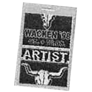 WANTED: 1998 – Wacken Open Air Festival Pass – 8/8.