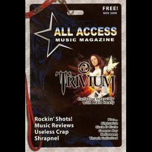 All Access Music Magazine – Nov 2008.