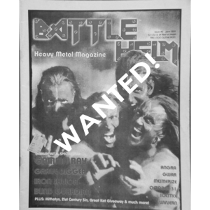 WANTED: Battle Helm Magazine – Nr3 – 1999.