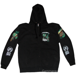 25 Years in Metal – Best Of The Best Party Tour 2015 – Zip Hoodie.